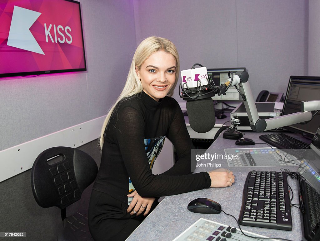 Louisa Johnson Visits Kiss FM