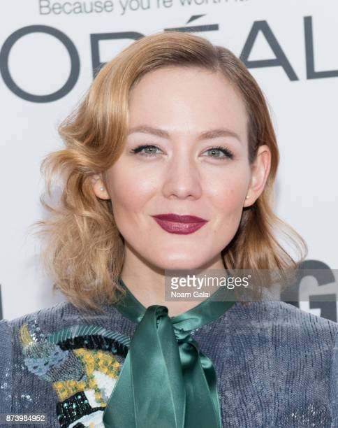 Louisa Krause attends the 2017 Glamour Women of The Year Awards at Kings Theatre on November 13 2017 in New York City