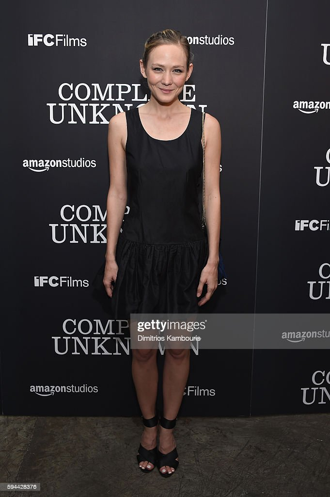 Louisa Krause attends the 'Complete Unknown' New York Premiere at Metrograph on August 23, 2016 in New York City.