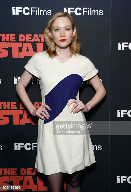 Louisa Krouse attends 'The Death Of Stalin' New York premiere at AMC Lincoln Square Theater on March 8 2018 in New York City