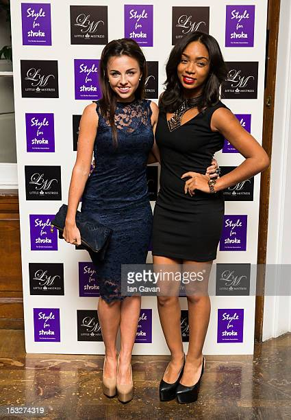 Louisa Lytton and Zaraah Abrahams attend the launch party of Style for Stroke by Nick Ede at No 5 Cavendish Square on October 2 2012 in London England