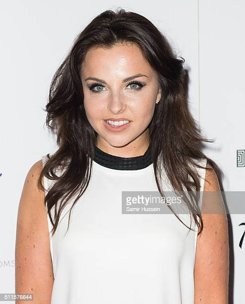 Louisa Lytton arrives for the WhatsOnStage Awards at Prince Of Wales Theatre on February 21 2016 in London England