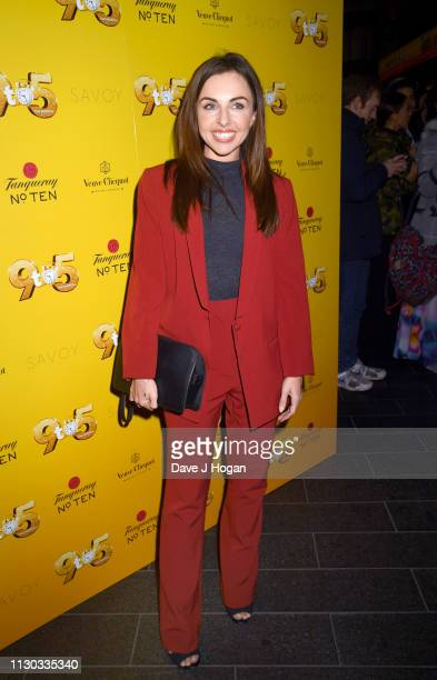 Louisa Lytton attends 9 To 5 The Musical at The Savoy Theatre on February 17 2019 in London England