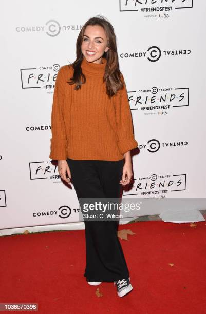 Louisa Lytton attends a photocall for Comedy Central UK's 'FriendsFest' at Kennington Park on September 20 2018 in London England