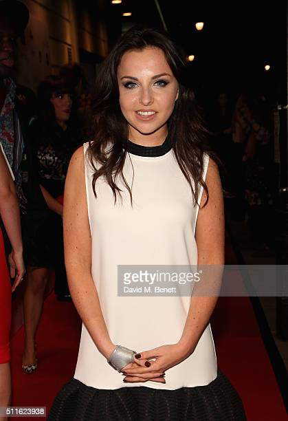 Louisa Lytton attends the 16th Annual WhatsOnStage Awards at The Prince of Wales Theatre on February 21 2016 in London England