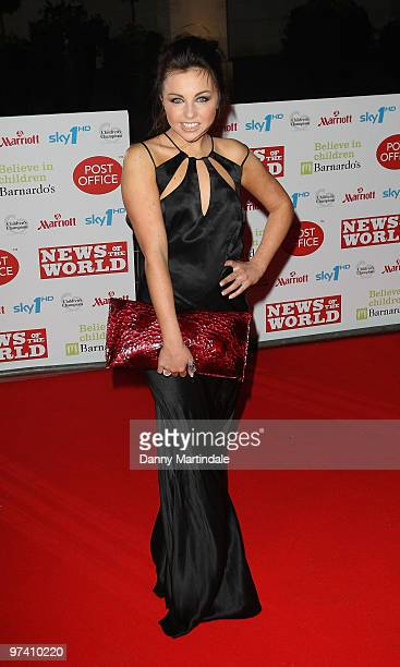 Louisa Lytton attends the Children's Champions 2010 awards at The Grosvenor House Hotel on March 3 2010 in London England
