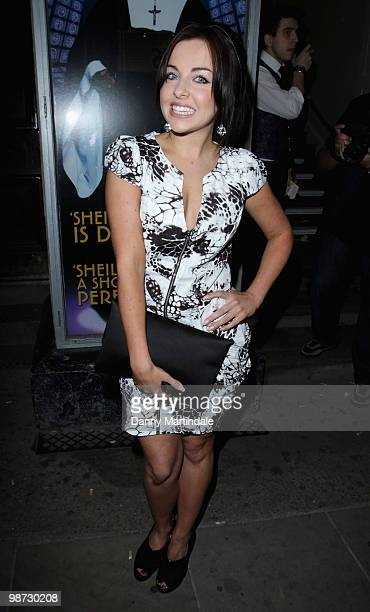 Louisa Lytton attends the launch party of 'The Pixie Collection' for Lipsy at Movida on April 28 2010 in London England