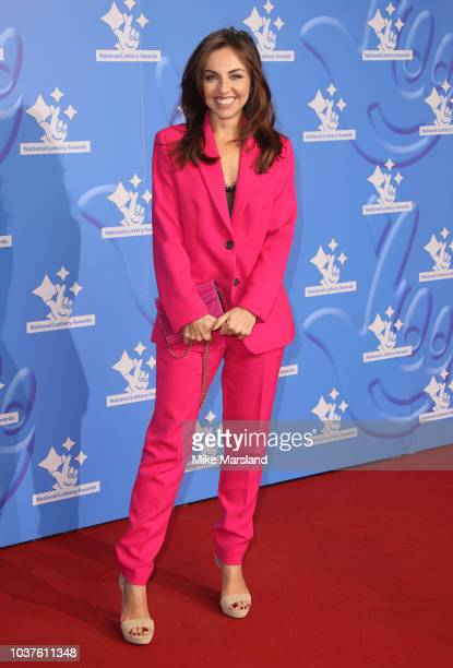 Louisa Lytton attends the National Lottery Awards 2018 held at BBC Television Centre on September 21 2018 in London England
