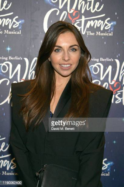 Louisa Lytton attends the press night after party for White Christmas at The Mandrake Hotel on November 25 2019 in London England