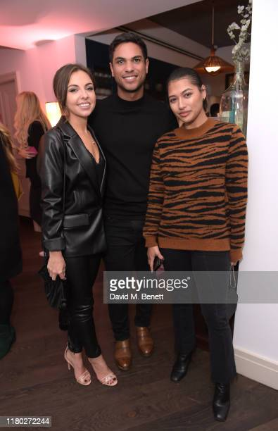 Louisa Lytton Ben Bhanvra and Vanessa White attend the VIP launch party celebrating Stacey Solomon's new collection with Primark on October 10 2019...