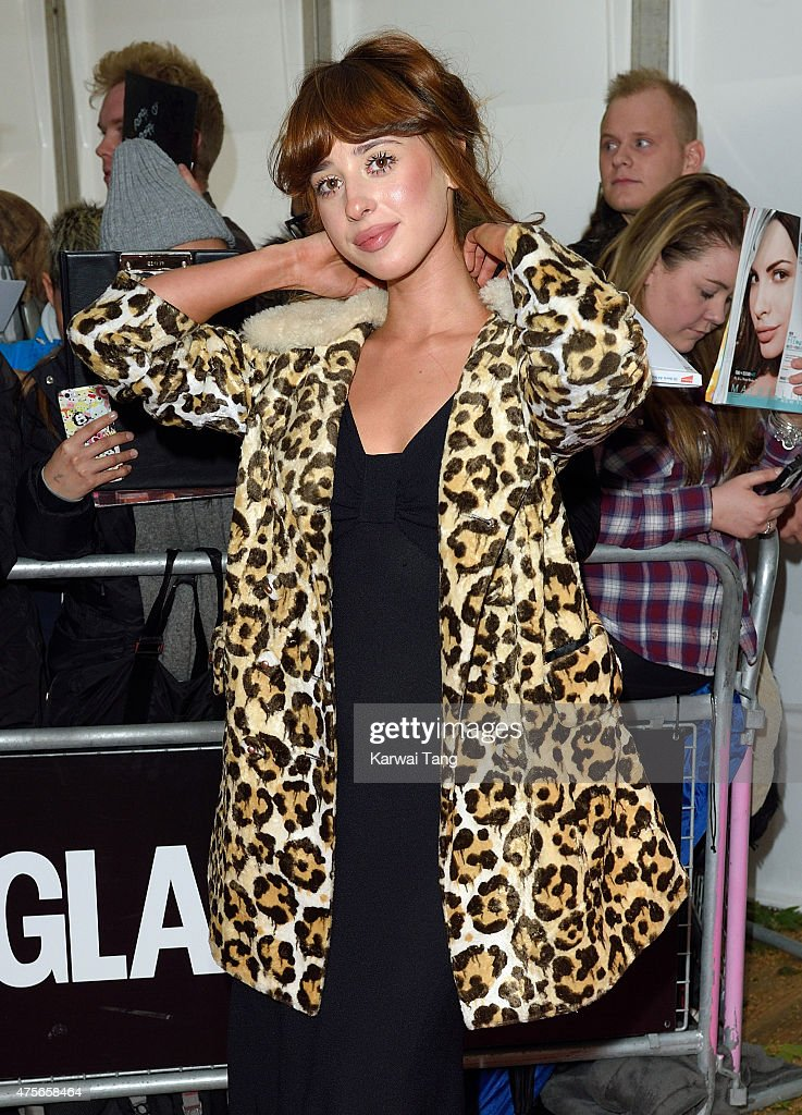 Louisa Rose Allen aka Foxes attends the Glamour Women of the Year Awards at Berkeley Square Gardens on June 2, 2015 in London, England.
