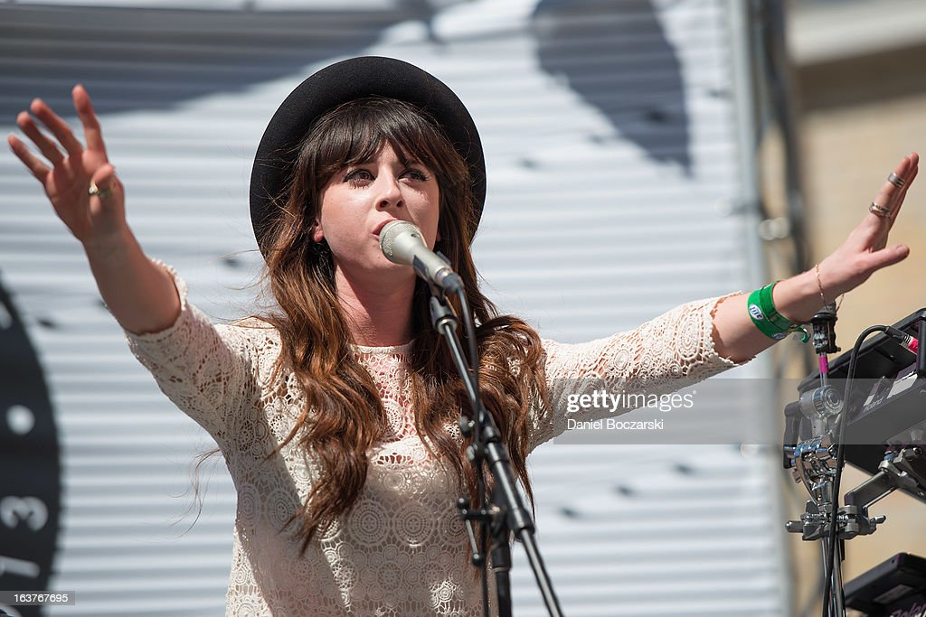 save off huge sale entire collection Louisa Rose Allen aka Foxes performs at Asos Music Lounge on ...
