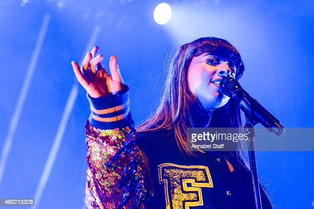 Louisa Rose Allen aka Foxes performs on stage at Shepherds Bush Empire on December 9, 2014 in London, United Kingdom.