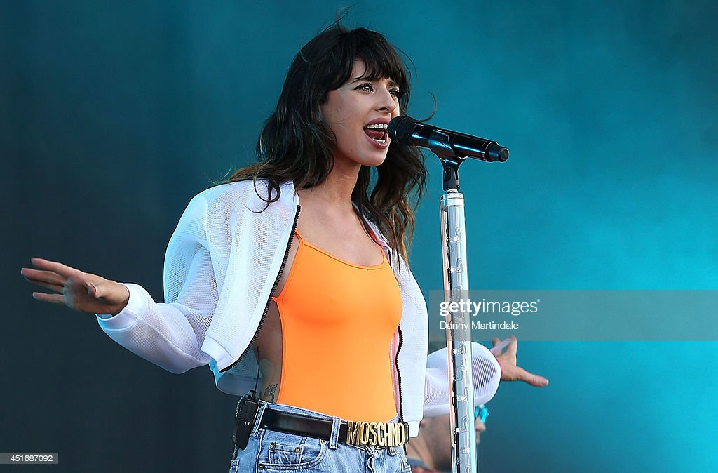 Louisa Rose Allen aka Foxes performs on stage at Wireless Festival at Finsbury Park on July 4, 2014 in London, United Kingdom.