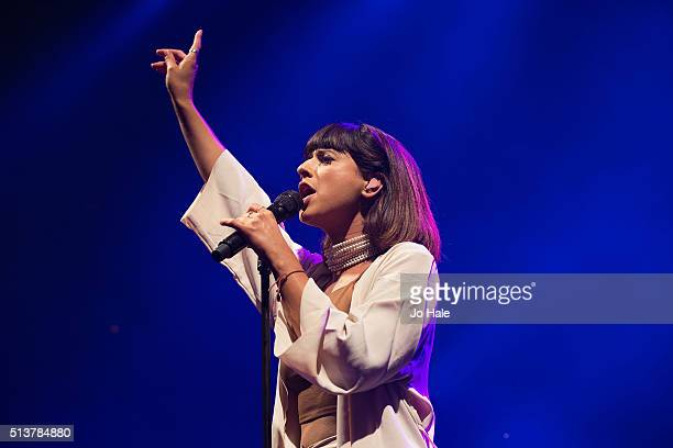 Louisa Rose Allen of Foxes performs at The Roundhouse on March 4, 2016 in London, England.
