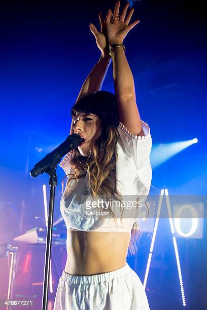 Louisa Rose Allen of Foxes performs on stage at Scala on March 4, 2014 in London, United Kingdom.