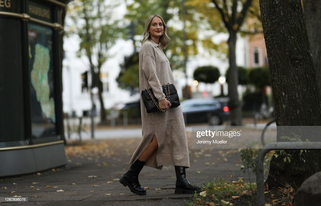 Street Style - Hamburg - October 22, 2020 : Photo d'actualité