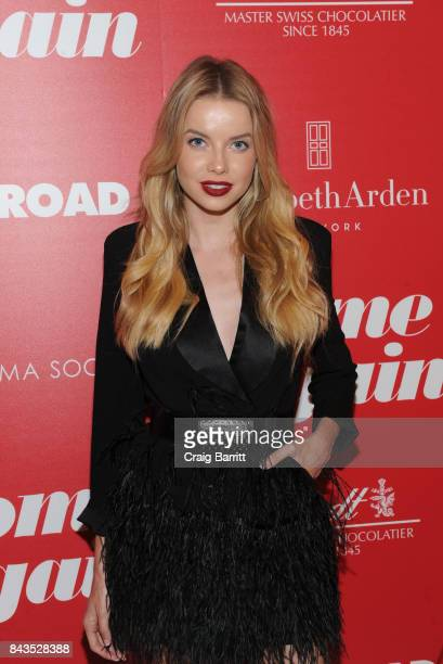 Louisa Warwick attends a screening of Open Road Films' 'Home Again' hosted by The Cinema Society Lindt Chocolate on September 6 2017 in New York City
