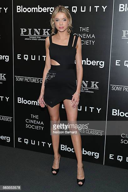 Louisa Warwick attends a screening of Sony Pictures Classics' 'Equity' hosted by The Cinema Society with Bloomberg and Thomas Pink at The Museum of...