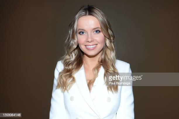 "Louisa Warwick attends The Cinema Society & Monkey 47 Host A Special Screening Of Sony Pictures Classics' ""Greed"" at Cinepolis Chelsea on February..."