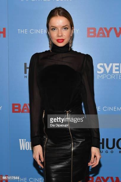 Louisa Warwick attends The Cinema Society's Screening Of Baywatch at Landmark Sunshine Cinema on May 22 2017 in New York City