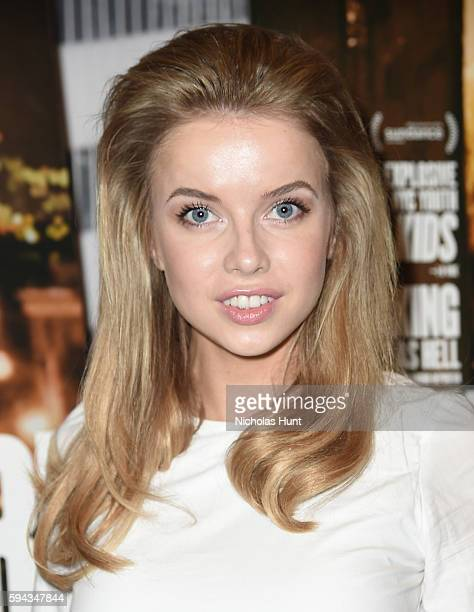 Louisa Warwick attends the 'White Girl' New York Premiere at Angelika Film Center on August 22 2016 in New York City
