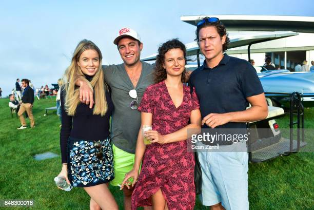 Louisa Warwick Guest Taline Arslanian and Vito Schnabel attend The Bridge 2017 at the Former Bridgehampton Race Circuiton on September 16 2017 in...