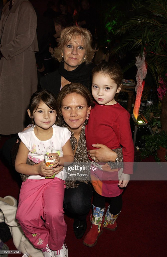 Louise Adams And Daughter Liberty, The Wild Thornberrys Movie Premiere (in Aid Of The World Wildlife Fund.), At Warner West End In Leicester Square, London