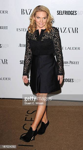 Louise Adams arrives for the Harpers Bazaar Women Of The Year Awards at Claridges Hotel on November 05 2013 in London England