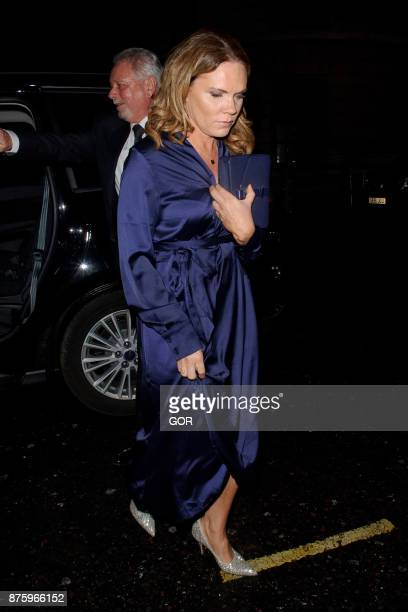 Louise Adams arriving at the Global Gift Gala event on November 18 2017 in London England