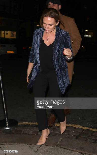 Louise Adams at Laylow for the Haig Club event on December 03, 2018 in London, England.