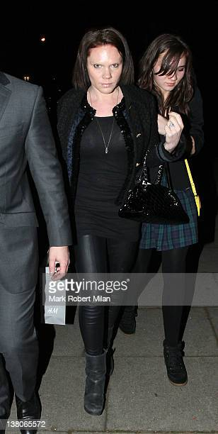 Louise Adams at the H&M party on Millbank on February 2, 2012 in London, England.