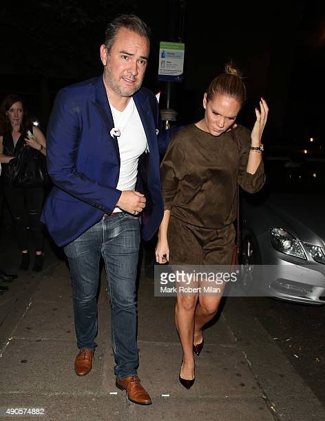 Louise Adams at the Playboy casino on September 29 2015 in London England