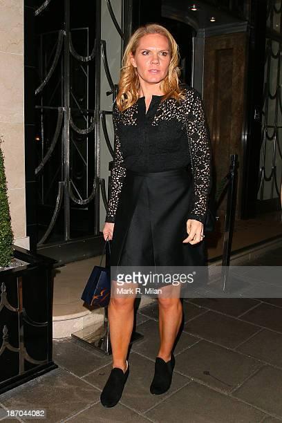 Louise Adams attending the Harper's Bazaar Women of the Year Awards on November 5 2013 in London England
