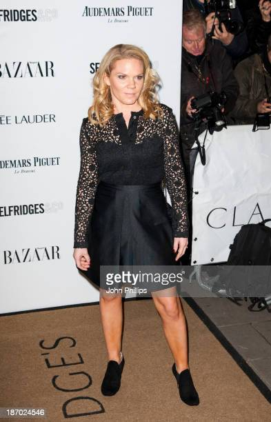 Louise Adams attends the Harpers Bazaar Women of the Year awards at Claridge's Hotel on November 5 2013 in London England