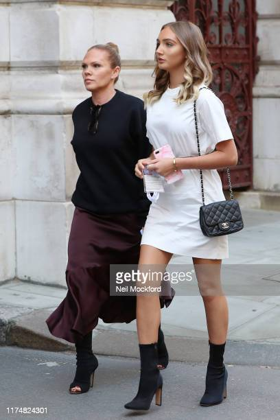 Louise Adams attends Victoria Beckham at the Foreign and Commonwealth office during LFW September 2019 on September 15, 2019 in London, England.