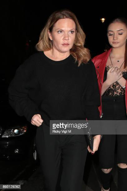 Louise Adams attends Victoria Beckham Christmas Open House hosted by Victoria Beckham David Beckham and British Vogue at Victoria Beckham Dover...