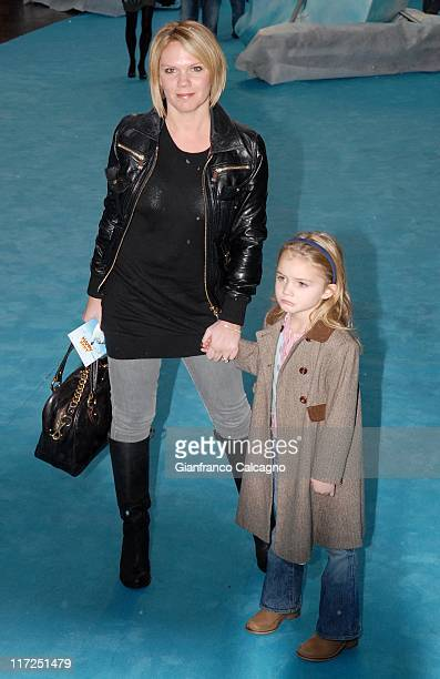 Louise Adams during Happy Feet London Premiere Outside Arrivals at Empire in London United Kingdom
