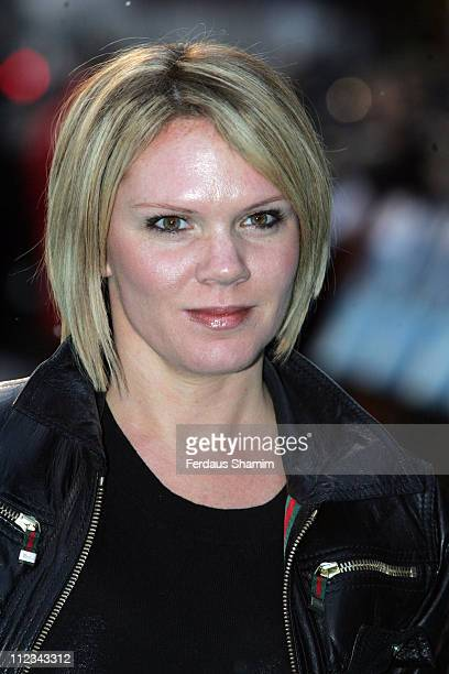 Louise Adams during Happy Feet London Premiere Outside Arrivals in London Great Britain