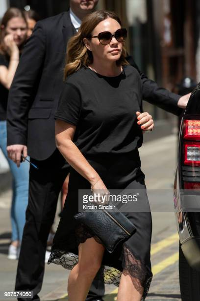 Louise Adams during London Fashion Week Men's on June 10 2018 in London England