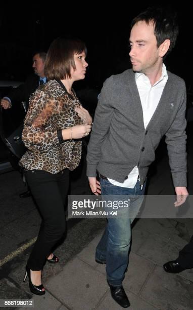 Louise Adams is seen in London