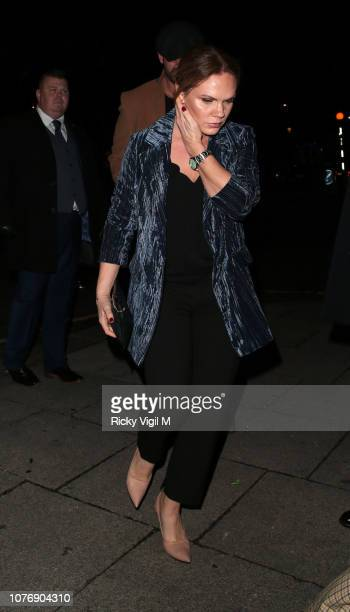 Louise Adams seen attending Haig Club House Party at Laylow Members' Lounge, on December 03, 2018 in London, England.