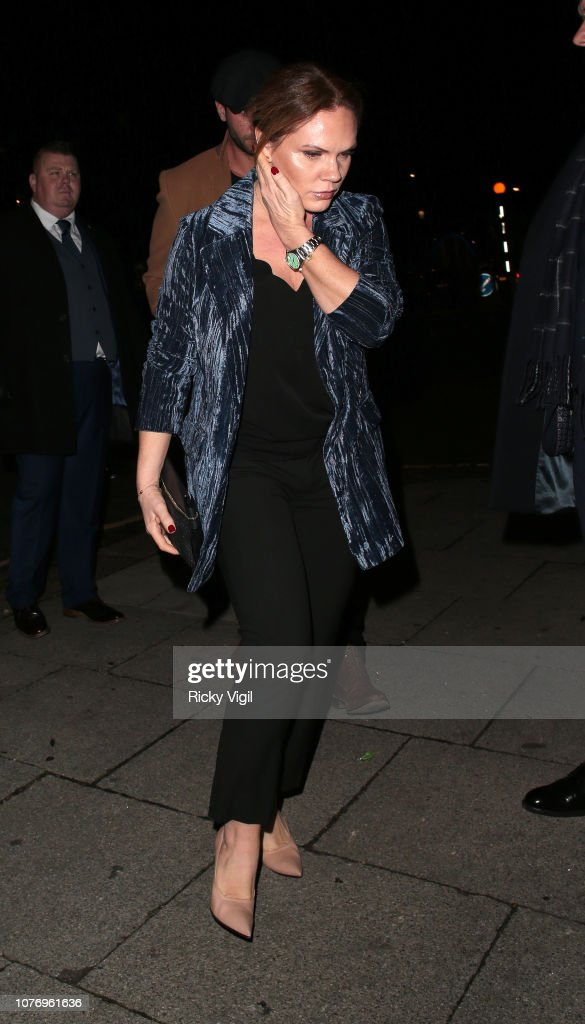 London Celebrity Sightings -  December 3, 2018 : News Photo