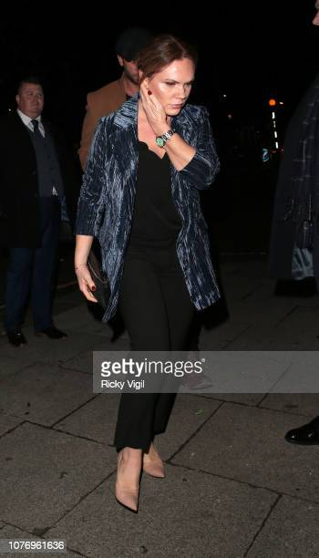Louise Adams seen attending Haig Club House Party at Laylow Members' Lounge on December 03 2018 in London England