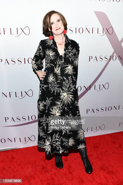 Louise Alston attends Passionflix's The Will Los Angeles Premiere on February 12 2020 in Culver City California