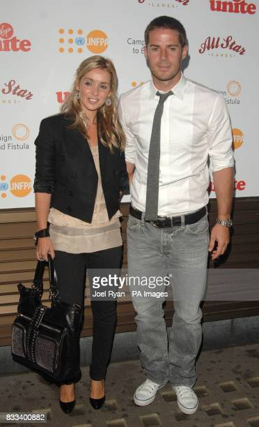 Louise and Jamie Redknapp arrive at the Virgin Unite Fistula Fundraising Evening in All Star Lanes in Bayswater, central London.