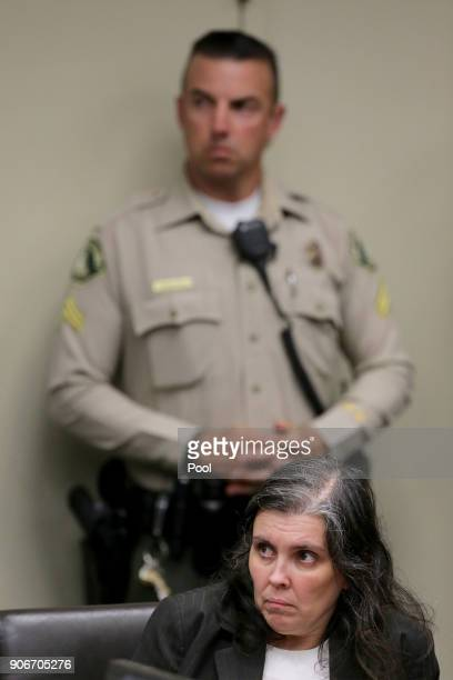 Louise Anna Turpin accused of holding 13 children captive appears in court for arraignment on January 18 2018 in Riverside California According to...