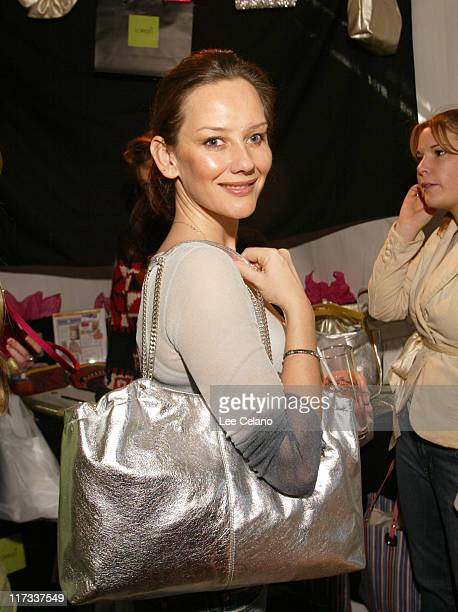 Louise Ashby at Lorelei during Silver Spoon PreGolden Globe Hollywood Buffet Day 2 at Private Residence in Los Angeles California United States Photo...