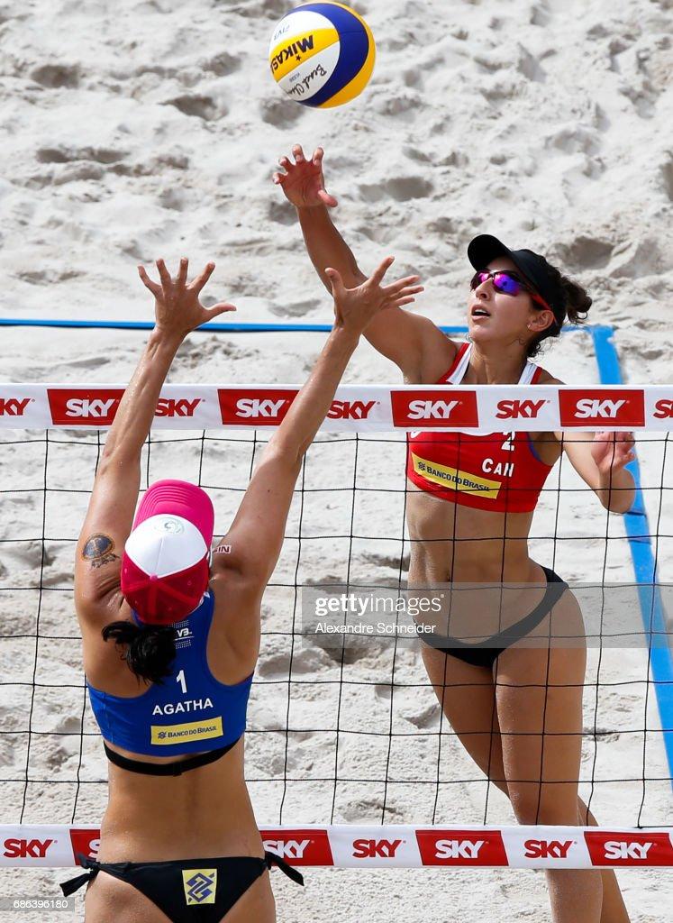 FIVB Beach Volleyball World Tour Rio - Day 4