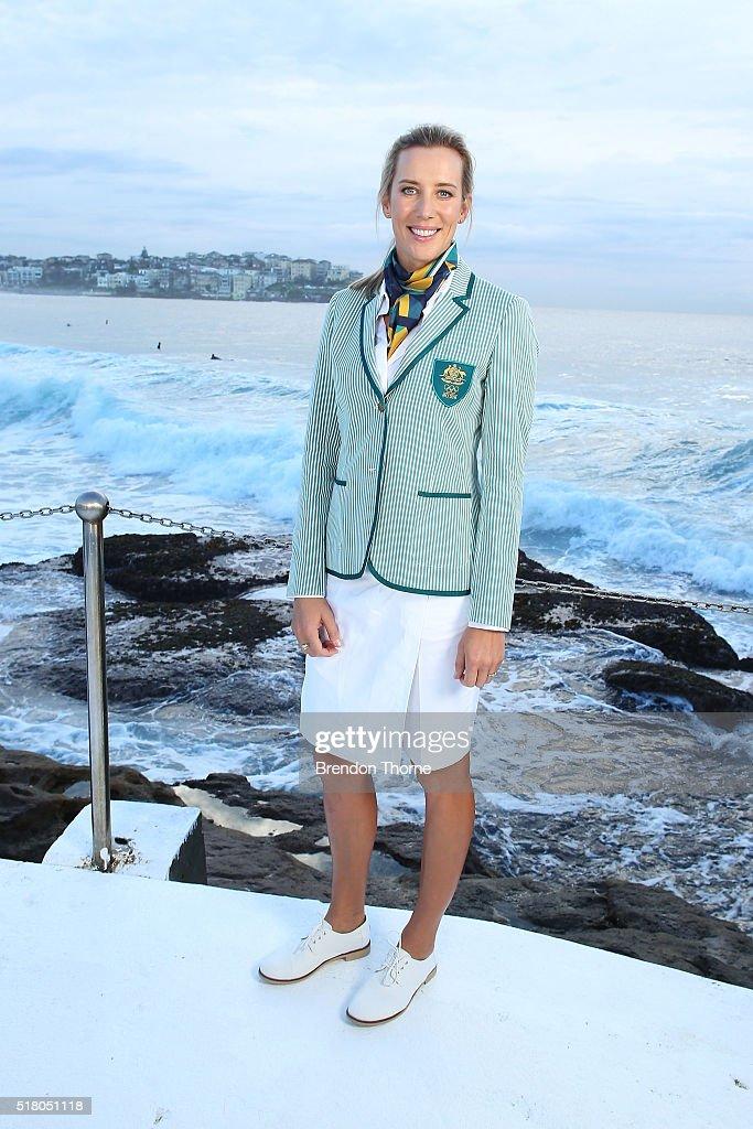 Sportscraft Unveil 2016 Australian Olympic Team Opening Ceremony Uniform